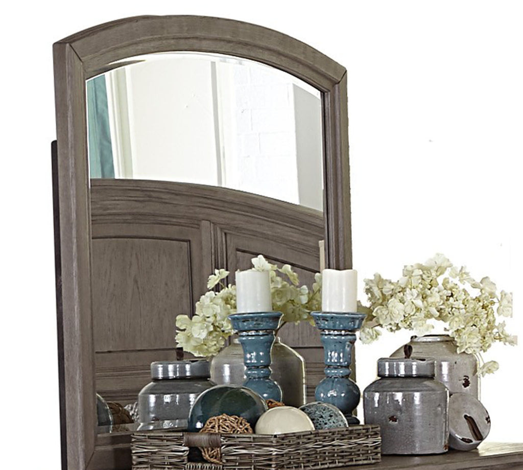 Homelegance Lavonia Mirror in Gray 1707-6 image