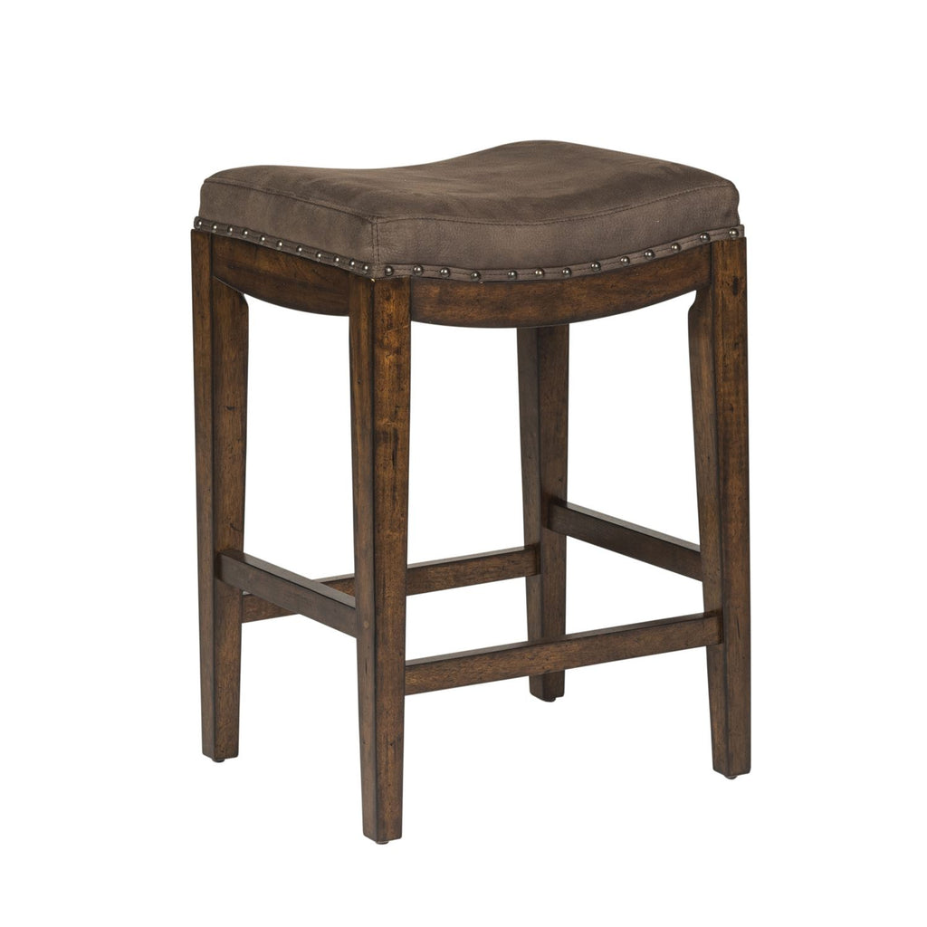 Liberty Aspen Skies Uph Barstool in Russet Brown 316-OT9001 image