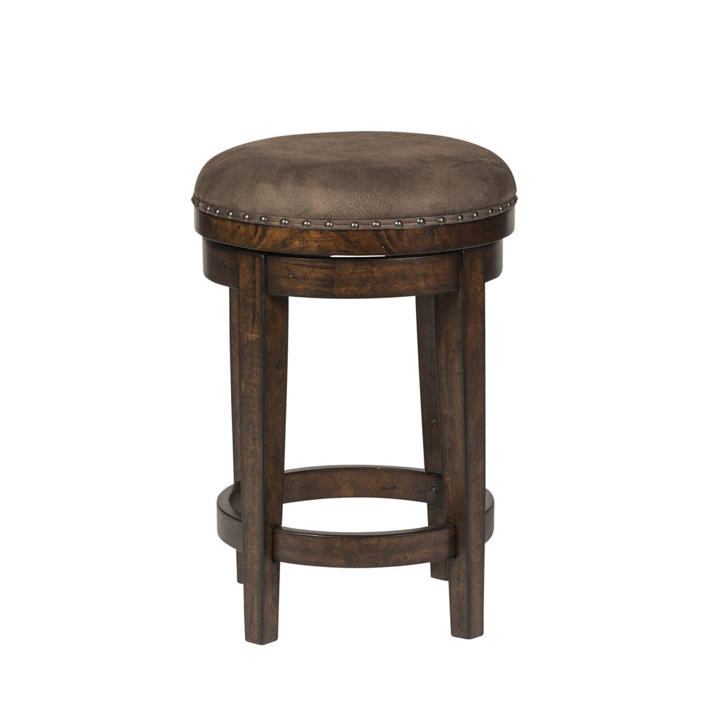 Liberty Aspen Skies Swivel Barstool in Russet Brown 316-OT9003 image