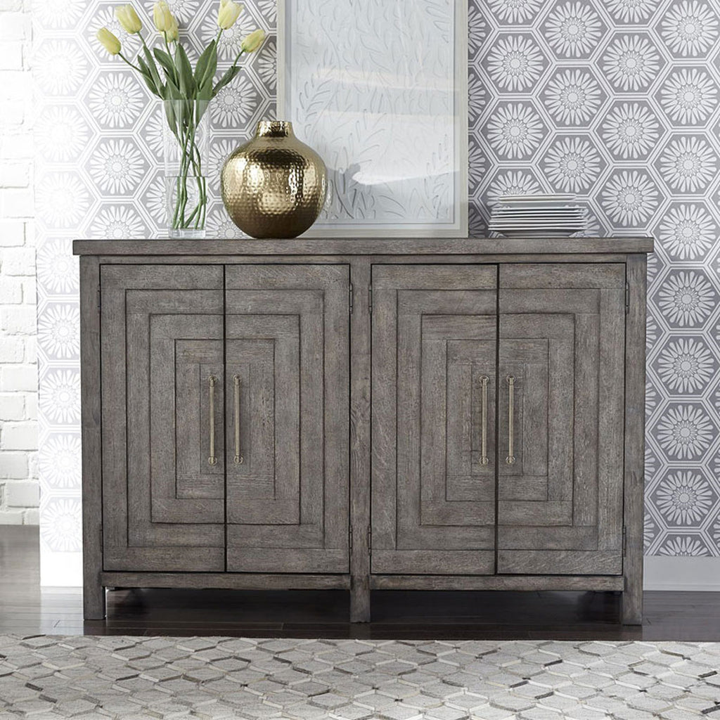 Liberty Furniture Modern Farmhouse Buffet in Dusty Charcoal 406-CB6443 image