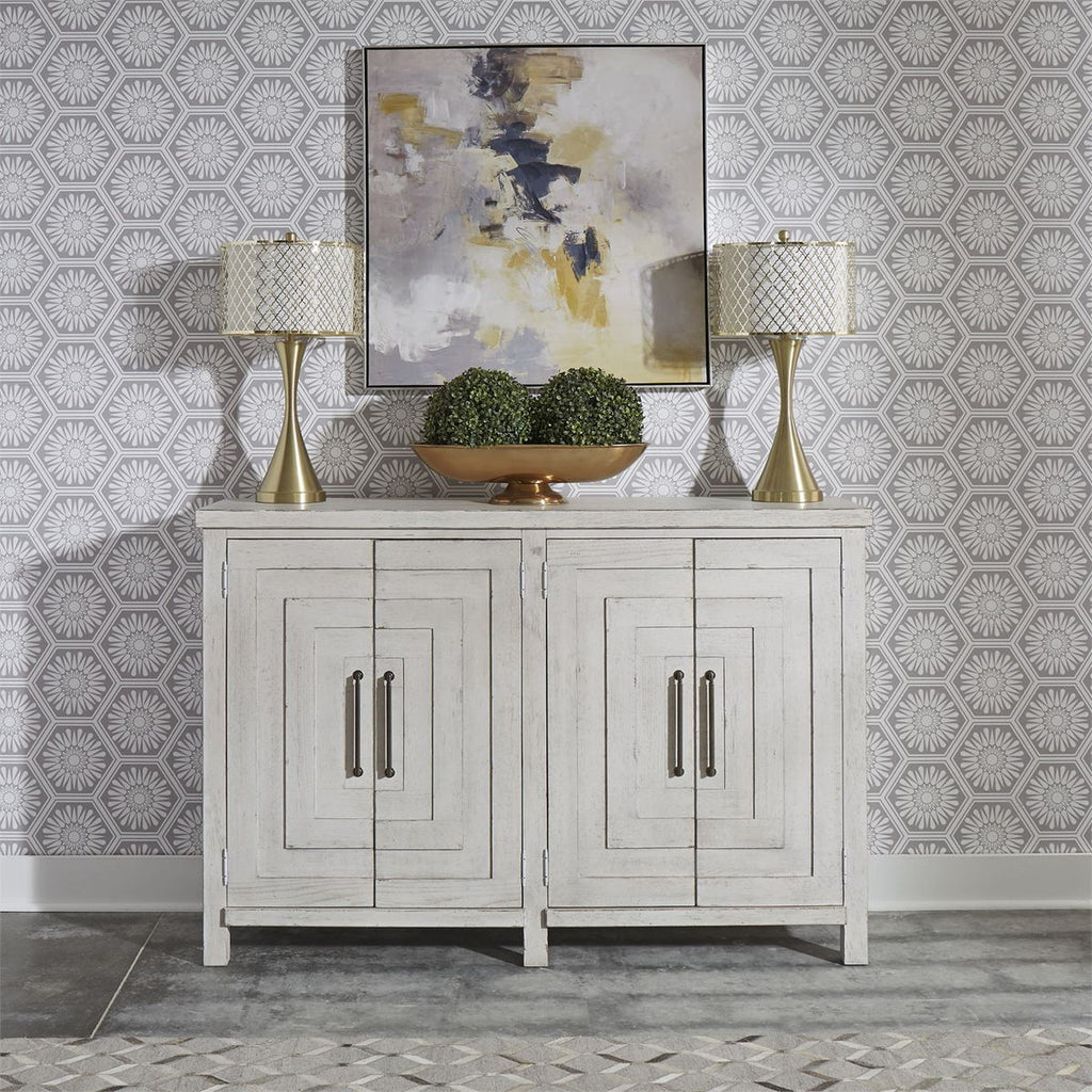 Liberty Furniture Modern Farmhouse Buffet in White 406W-CB6443 image