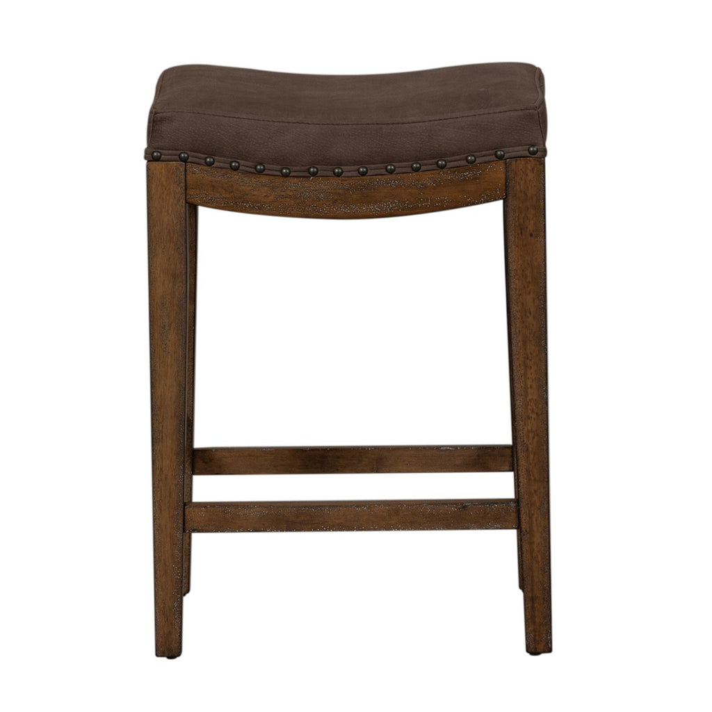 Liberty Aspen Skies Uph Barstool in Weathered Brown 416-OT9001 image