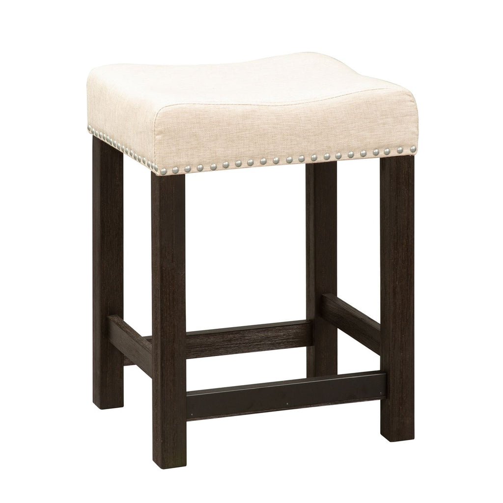 Liberty Heatherbrook Uph Barstool in Charcoal and Ash 422-OT9001 image