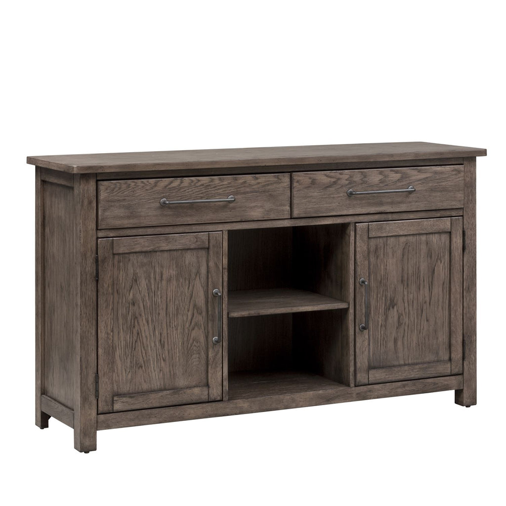 Liberty Furniture Sonoma Road Buffet in Weather Beaten Bark 473-CB6236 image