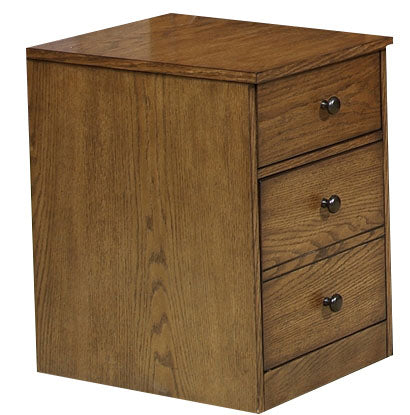 Liberty Hearthstone Mobile File Cabinet in Rustic Oak 382-HO146 image