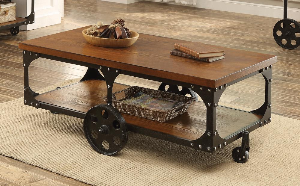 Rustic Cherry Coffee Table image