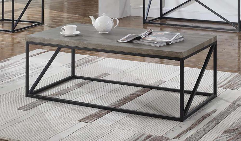 Industrial Sonoma Grey Coffee Table image