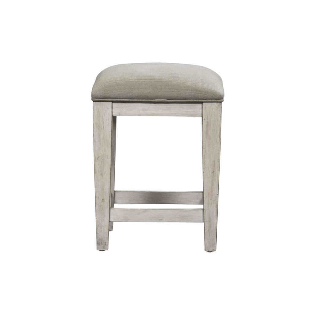 Liberty Heartland Console Stool in Antique White 824-OT9001 image