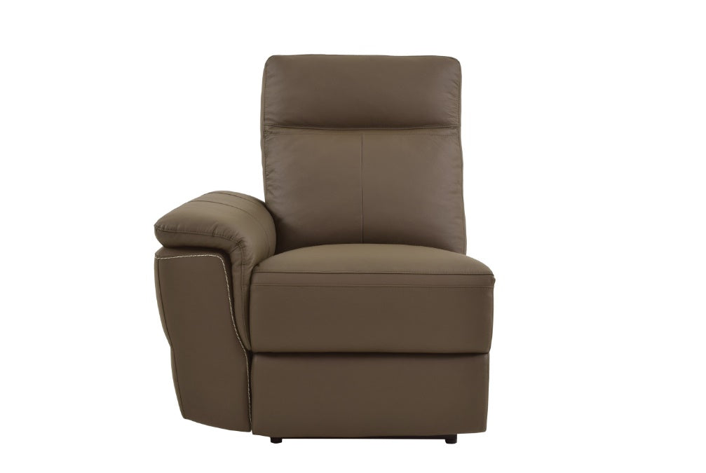 Homelegance Furniture Olympia Power LSF Reclining Chair with USB Port 8308-LCPW image