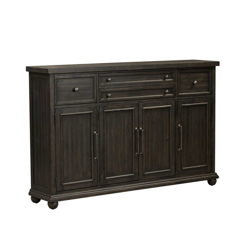 Liberty Furniture Harvest Home Hall Buffet in Chalkboard 879-HB7246 image