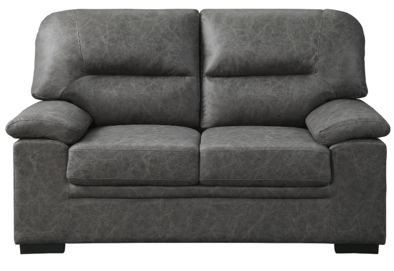 Homelegance Furniture Michigan Loveseat in Dark Gray 9407DG-2 image