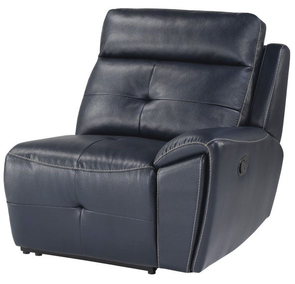 Homelegance Furniture Avenue Right Side Reclining Chair in Navy 9469NVB-RR image