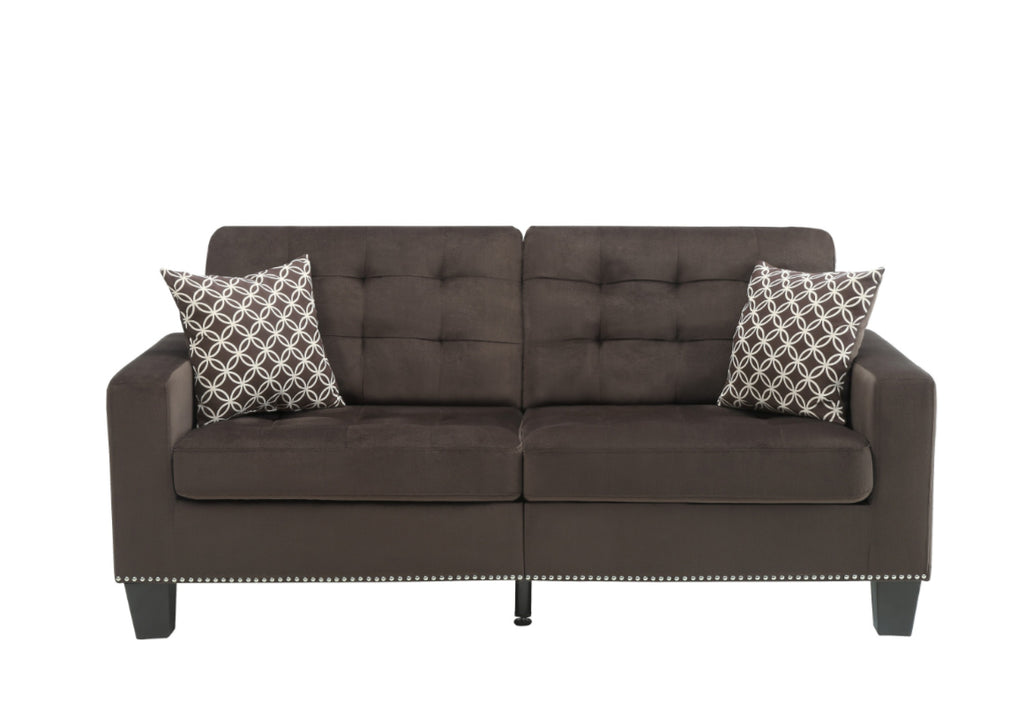 Homelegance Furniture Lantana Sofa in Chocolate 9957CH-3 image