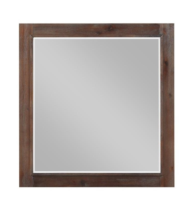 Homelegance Wrangell Mirror in Cherry 2055-6 image