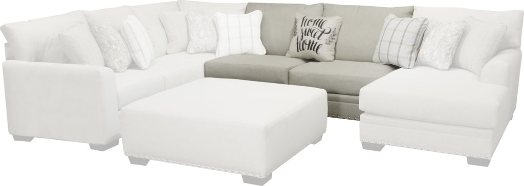 Jackson Middleton Armless Sofa in Cement/Midnight 4478-30 image