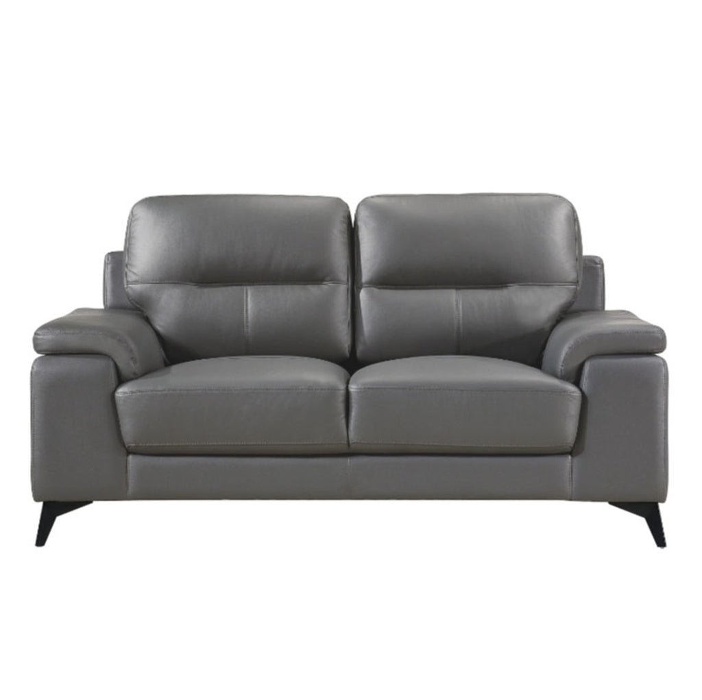 Homelegance Furniture Mischa Loveseat in Dark Gray 9514DGY-2 image