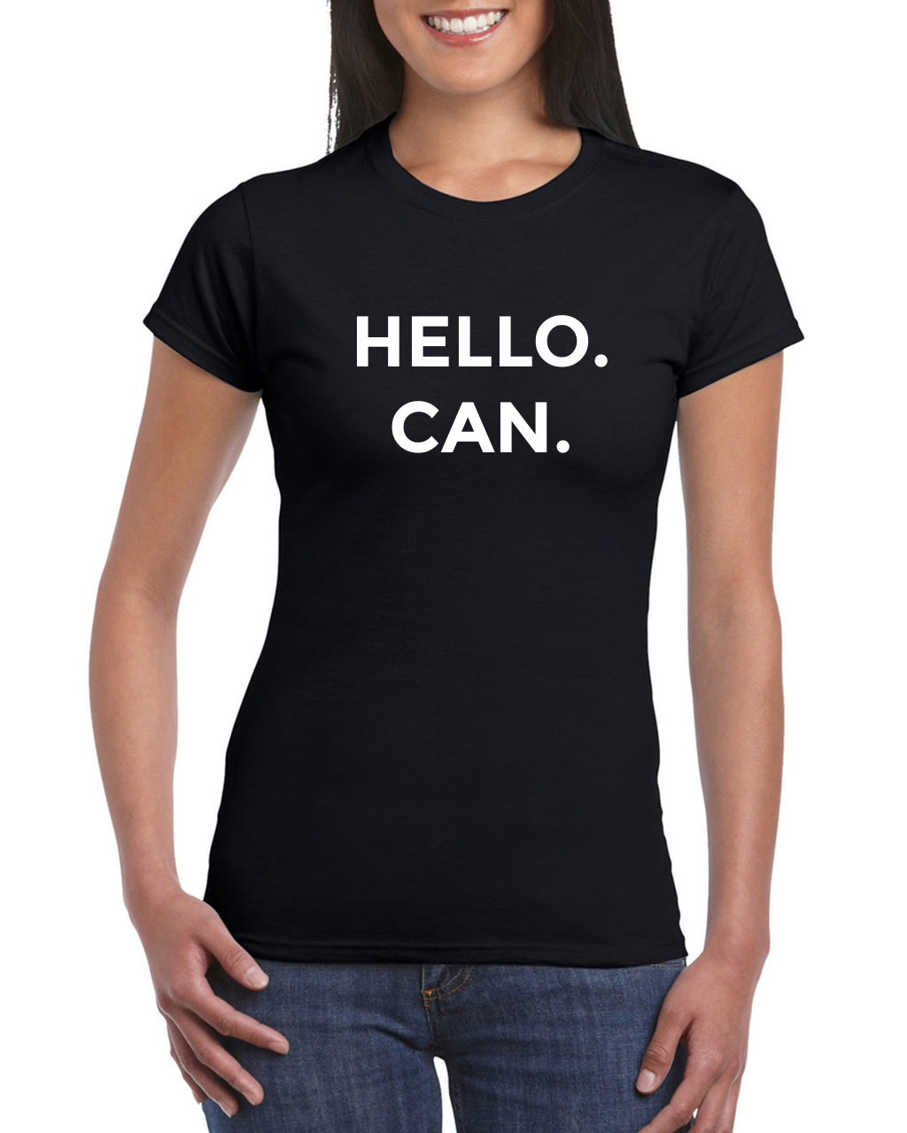 PRE-ORDER- #GSCAdmin Trolling - HELLO. CAN. Ladies-Limited Tee