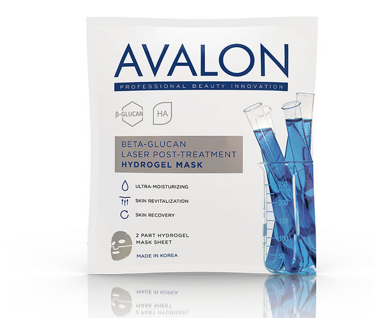 Avalon Beta-Glucan Laser Post-Treatment Hydrogel Mask - 30g (Korea)