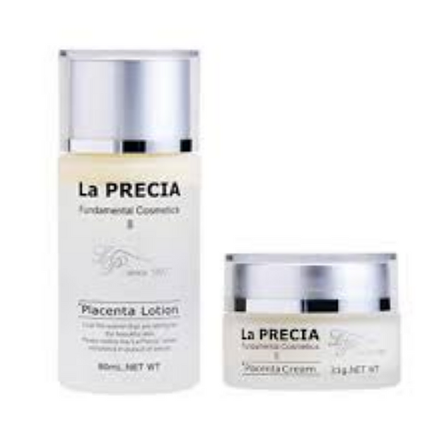 La Precia Lotion - 80ml, La Precia Placenta Cream-31g