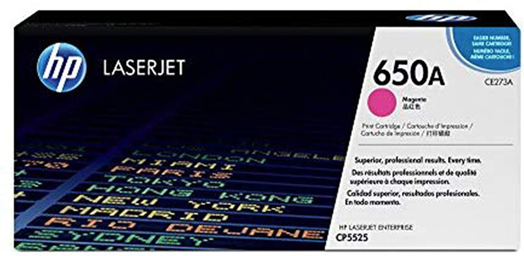 HP 650A Toner Cartridge