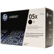 Load image into Gallery viewer, HP 05X Black Toner Cartridge