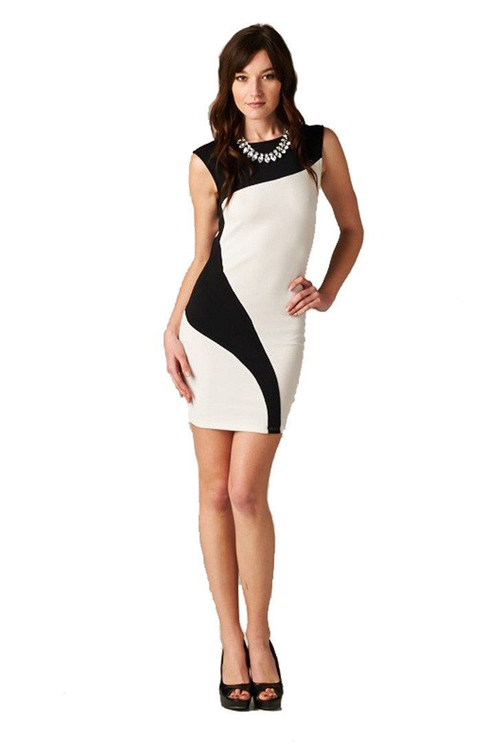 Black and White Cocktail Dresses