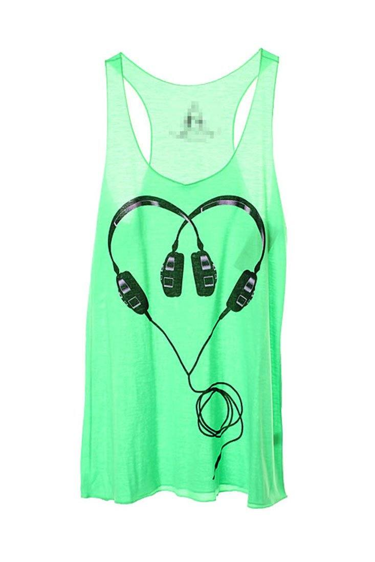For the Love of Music Tank (Multiple Colors Available) Tops- Niobe Clothing