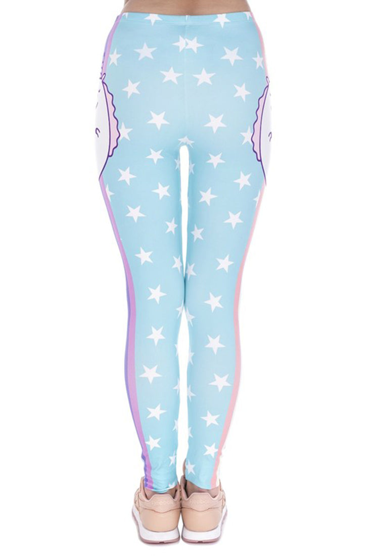 Unicorn Digital Print Leggings