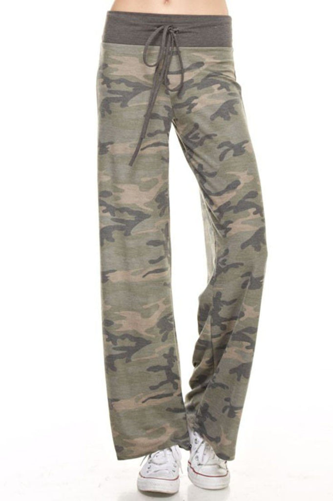 Dark Army Casual Lounge Pants