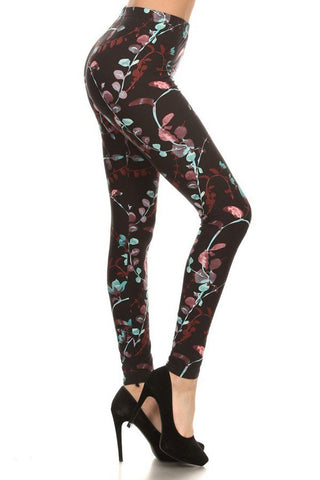 Dark Luminescence Design Leggings