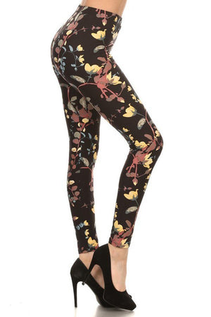 Day Luminescence Design Leggings leggings- Niobe Clothing