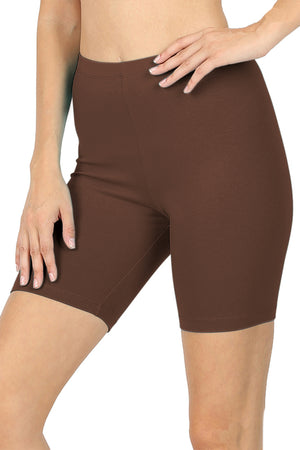 Cotton Running Biker Shorts leggings- Niobe Clothing