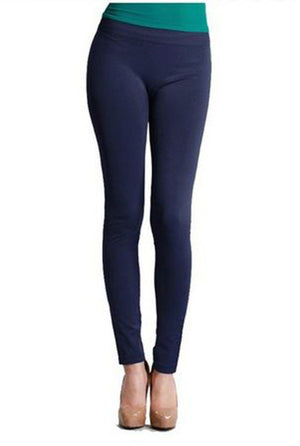 Seamless Smooth Ankle Length One Size Leggings - Niobe Clothing - 1