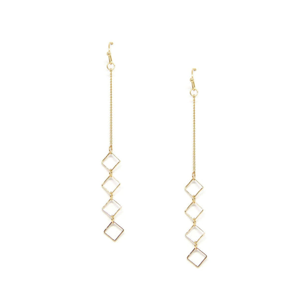 Trudy Earring in Gold Earrings- Niobe Clothing
