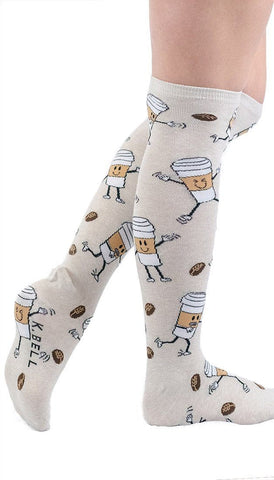 Coffee Break Knee High Socks