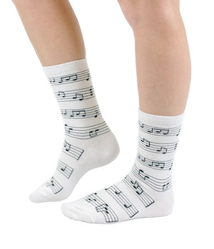 Making Music Crew Socks Socks- Niobe Clothing