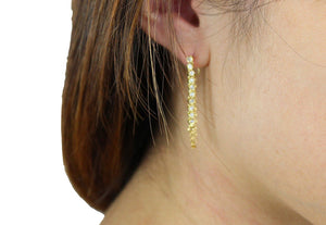 Keep Your Cool Earring in Gold-Earrings-Niobe Clothing