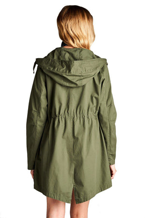 Mid Length Utility Jacket
