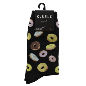 Donuts Crew Socks Socks- Niobe Clothing
