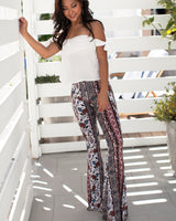 Boho Bell Bottom with Flared Leg pants- Niobe Clothing