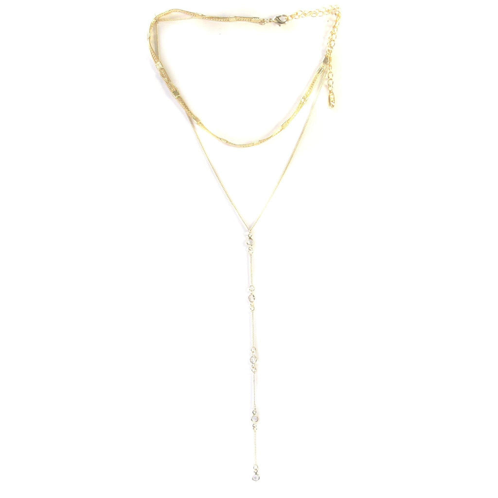 Hidden Gem Necklace in Gold