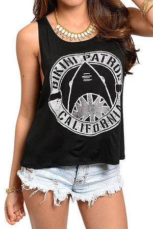Bikini Patrol Tank (Multiple Colors Available) Tops- Niobe Clothing