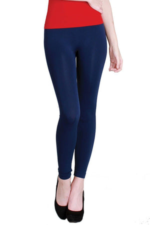 Seamless Smooth Nylon Leggings leggings- Niobe Clothing