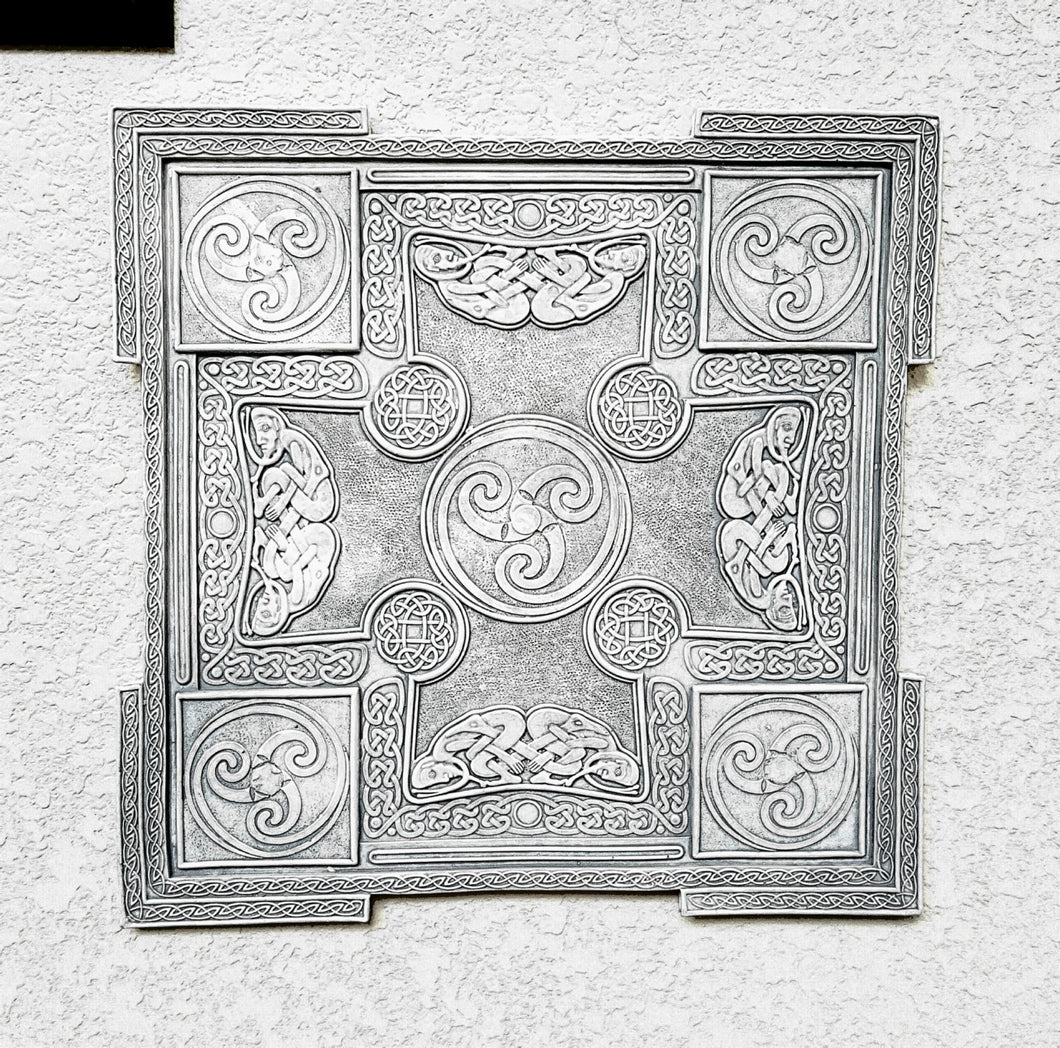 Celtic decor Gothic panel Wall Plaque sculpture www.Neo-Mfg.com 13""