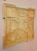 Load image into Gallery viewer, Celtic decor Gothic panel Wall Plaque sculpture www.Neo-Mfg.com 13""