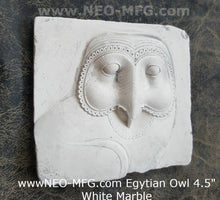 Load image into Gallery viewer, History Egyptian Owl Sculptural wall relief  www.Neo-Mfg.com 4.5""