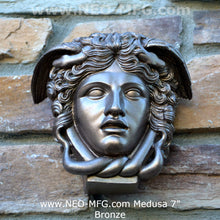 "Load image into Gallery viewer, History Medusa Versace Rondanini Bust design Artifact Carved Sculpture Statue 7"" www.Neo-Mfg.com"