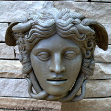 "Load image into Gallery viewer, History Medusa Versace Rondanini Bust design Artifact Carved Sculpture Statue 13"" www.Neo-Mfg.com Large Scale"
