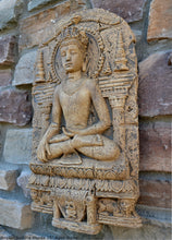 "Load image into Gallery viewer, Asia Angkor buddha murda artifact wall sculpture statue 16"" www.NEO-MFG.com"