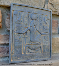 "Load image into Gallery viewer, Egyptian HEH God Of Infinity Tutankhamen Fragment Plaque Wall Frieze 10"" tall www.NEO-MFG.com"